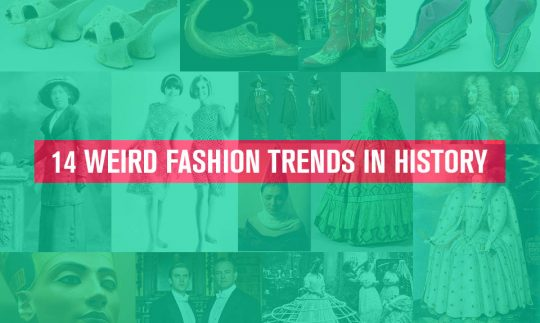 weird fashion trends in history
